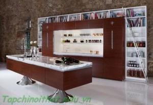 Những căn bếp sang trọng và hiện đại