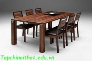 Đồ nội thất ăn uống bằng gỗ