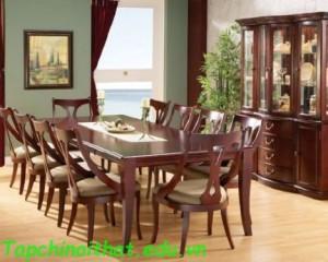 Phòng ăn nội thất hiện đại