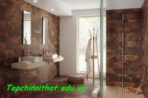 Gạch ốp tường trong nhà tắm