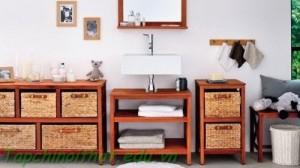 Trang trí nội thất 'lưu trữ mở' trong phòng tắm