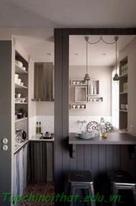 Nhà bếp mini trong không gian nhỏ