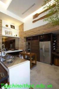 Nhà bếp nhỏ gọn