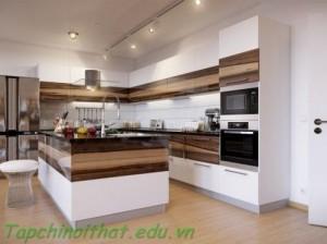 Nội thất hiện đại của nhà bếp