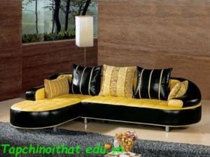 Bộ ghế sofa hiện đại bằng da