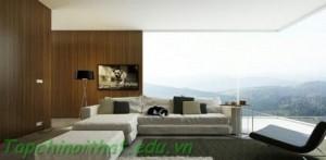 Phòng khách với quan cảnh tuyệt đẹp