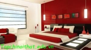 Tuyệt vời với phòng ngủ màu đỏ