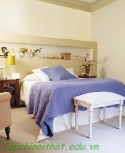 Phòng ngủ sang trọng nhẹ nhàng