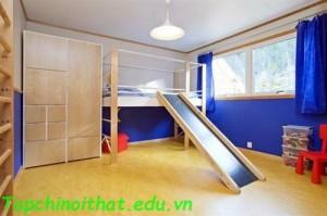 Phòng ngủ vui chơi cho trẻ