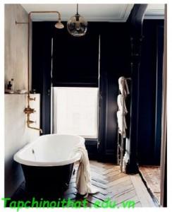 Phòng tắm truyền thống và tối giản