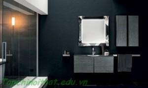 Phòng tắm ấm cúng