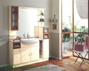 Phòng tắm nhỏ gọn
