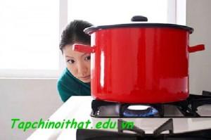 Bếp nấu nhà bếp