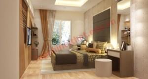Phòng ngủ hướng Tây Nam, gam màu trung tính nhẹ nhàng