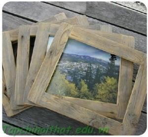 Khung hình bằng gỗ
