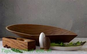 Bồn rửa bằng gỗ