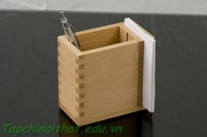 Hợp gỗ đựng bút