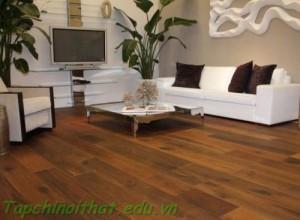 Thiết kế sàn gỗ hiện đại