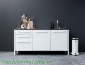 Tủ lưu trữ màu trắng thanh lịch