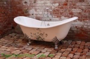 Thiết kế bồn tắm đơn giản