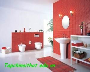 Không gian phòng tắm