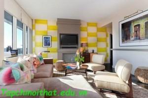 Căn hộ cao cấp với thiết kế nội thất tối giản