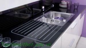 Bồn rửa màu đen hiện đại