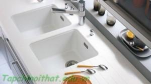 Bồn rửa trắng tinh tế