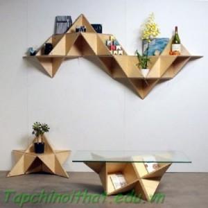 Đồ nội thất gỗ độc đáo