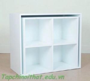 Tủ lưu trữ màu trắng