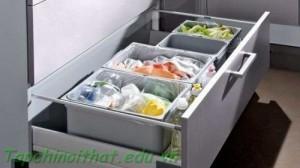 Tủ lưu trữ nhà bếp