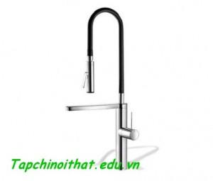 Vòi nước nhà bếp hiện đại từ KWC