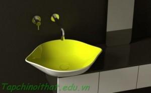 Bồn rửa thiết kế mỏng