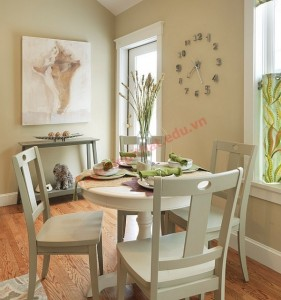 Thiết kế đơn giản, dễ cất gọn, tiết kiệm diện tích là điều bạn nên để ý khi chọn nội thất.