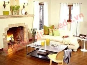 Xây dựng phòng khách mang phong cách hiện đại