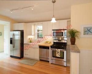 Những vị trí cần lưu ý khi thiết kế phòng bếp