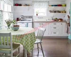 bếp nấu (hoặc lò nướng) được đặt ở vị trí thẳng hàng với cửa ra vào hoặc dễ dàng quan sát được từ cửa ra vào bị coi là phong thủy xấu