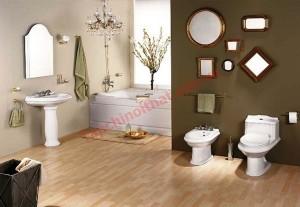 Phong thủy cho phòng tắm và phòng vệ sinh hợp phong thủy