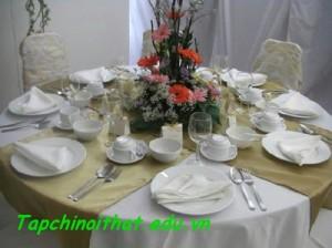 Cách chọn bát đĩa cho phòng ăn