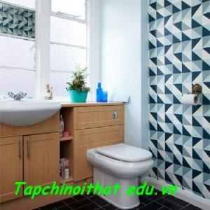 Tạo chiều sâu cho căn phòng nhờ họa tiết và màu sắc hợp lý.