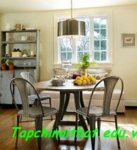 Những kiểu ghế ấn tượng cho phòng ăn thêm đẹp mắt
