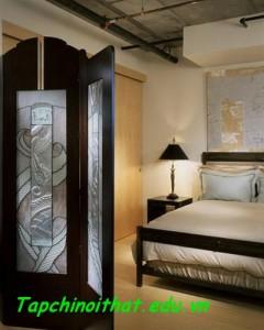 Giường ngủ tránh hướng ra vào