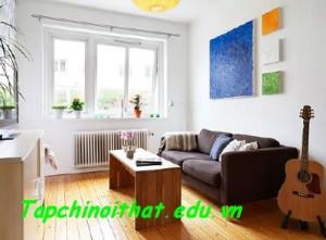 Thiết kế đẹp cho căn hộ 36 m2