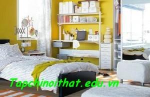 Màu sắc phòng ngủ theo phong thủy