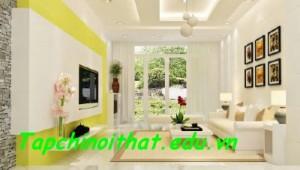 Màu sắc trong thiết kế nội thất hiện đại
