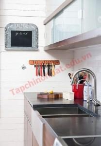 Trang trí phòng bếp thêm sinh động cho ngôi nhà