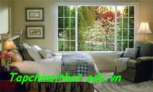Phong thủy cho cửa sổ nhà bạn