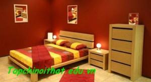 Đặt giường hợp với phong thủy
