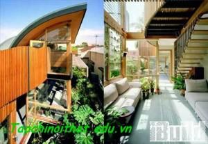 Thiết kế nhà đẹp thân thiện với môi trường