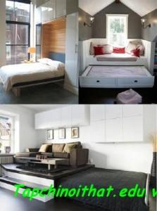 Những giải pháp hiệu quả cho phòng ngủ chật hẹp